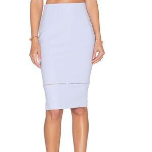 Lavender Elizabeth and James pencil skirt size 0